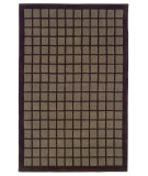 RugStudio presents Linon Trio Tacf3 Chocolate / Smoke Hand-Tufted, Good Quality Area Rug