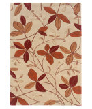 RugStudio presents Linon Trio Tad02 Tan / Rust Hand-Tufted, Good Quality Area Rug