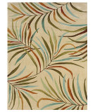 RugStudio presents Linon Trio Tae06 Sand / Terracotta Hand-Tufted, Good Quality Area Rug