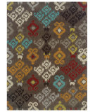 RugStudio presents Linon Trio Tae13 Grey / Multi Hand-Tufted, Good Quality Area Rug
