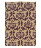 RugStudio presents Linon Trio Tarl0 Cream / Purple Hand-Tufted, Good Quality Area Rug