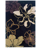 RugStudio presents Linon Trio Tasd0 Black / Gold Hand-Tufted, Good Quality Area Rug