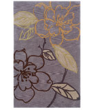 RugStudio presents Linon Trio Tasd0 Thistle / Brown Hand-Tufted, Good Quality Area Rug