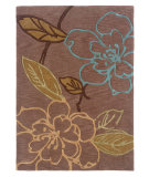 RugStudio presents Linon Trio Tasd0 Thistle / Blue Hand-Tufted, Good Quality Area Rug