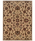 RugStudio presents Linon Trio Traditional Tt04 Gold Hand-Tufted, Good Quality Area Rug