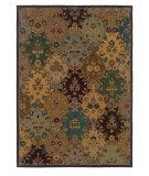 RugStudio presents Linon Trio Traditional Tt1023 Ivory / Multi Hand-Tufted, Good Quality Area Rug