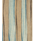 RugStudio presents Loloi Aurora AA-01 Neutral - Blue Hand-Tufted, Good Quality Area Rug