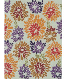 RugStudio presents Loloi Aurora AA-02 Multi Floral Hand-Tufted, Good Quality Area Rug