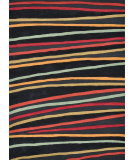 RugStudio presents Loloi Aurora AA-05 Black Stripes Hand-Tufted, Good Quality Area Rug