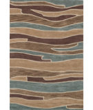 RugStudio presents Loloi Abacus AC-04 Blue Brown Hand-Tufted, Better Quality Area Rug