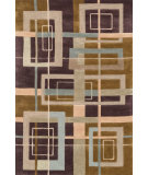 RugStudio presents Loloi Abacus AC-05 Mocha Multi Hand-Tufted, Better Quality Area Rug