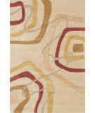 RugStudio presents Loloi Abacus AC-06 Light Gold Multi Hand-Tufted, Better Quality Area Rug