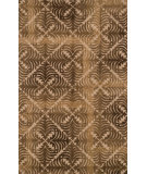 RugStudio presents Loloi Alexi AJ-02 Camel / Brown Hand-Tufted, Good Quality Area Rug