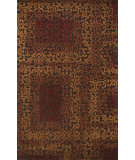 RugStudio presents Loloi Alexi AJ-01 Brown / Spice Hand-Tufted, Good Quality Area Rug