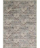 RugStudio presents Loloi Anastasia Af-05 Silver - Plum Machine Woven, Best Quality Area Rug
