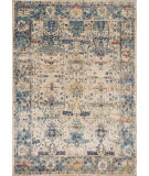 RugStudio presents Loloi Anastasia Af-07 Sand - Light Blue Machine Woven, Best Quality Area Rug