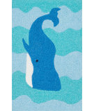 RugStudio presents Loloi Angelou AN-03 Ocean / Blue Woven Area Rug