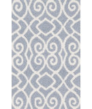 RugStudio presents Loloi Angelou AN-11 Grey / Ivory Woven Area Rug