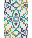 RugStudio presents Loloi Angelou AN-13 Ivory / Multi Woven Area Rug