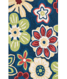 RugStudio presents Loloi Angelou AN-14 Navy / Multi Woven Area Rug