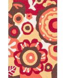 RugStudio presents Loloi Angelou AN-16 Red / Yellow Woven Area Rug