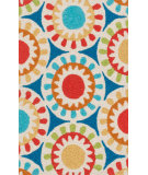 RugStudio presents Loloi Angelou AN-17 Blue / Multi Woven Area Rug