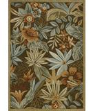 RugStudio presents Loloi Ernest Hemingway Atrium AU-03 Brown Hand-Hooked Area Rug