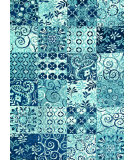RugStudio presents Loloi Avanti Av-03 Blue Machine Woven, Good Quality Area Rug
