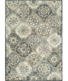 RugStudio presents Loloi Avanti Av-08 Grey / Sage Machine Woven, Good Quality Area Rug