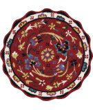 RugStudio presents Loloi Azalea Az-11 Red Hand-Tufted, Good Quality Area Rug
