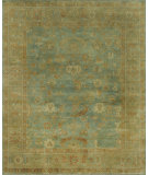 RugStudio presents Loloi Bogart BG-01 Sea - Gold Hand-Knotted, Good Quality Area Rug