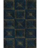 RugStudio presents Loloi Boca Bh-01 Navy - Multi Woven Area Rug