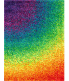 RugStudio presents Loloi Barcelona Shag BS-01 Rainbow Area Rug