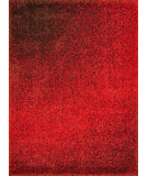 RugStudio presents Loloi Barcelona Shag BS-01 Red / Brown Area Rug
