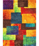 RugStudio presents Loloi Barcelona Shag BS-05 Multi Area Rug