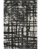 RugStudio presents Loloi Barcelona Shag BS-10 Charcoal / Ivory Machine Woven, Good Quality Area Rug