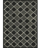 RugStudio presents Rugstudio Sample Sale 92034R Black / Grey Hand-Tufted, Better Quality Area Rug