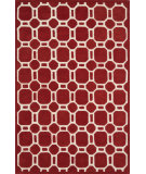 RugStudio presents Loloi Brighton Bt-12 Red Hand-Tufted, Better Quality Area Rug