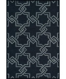 RugStudio presents Loloi Celine Celicf-01 Black / Grey Woven Area Rug