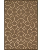RugStudio presents Loloi Celine CF-06 Light Brown / Beige Hand-Hooked Area Rug