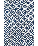 RugStudio presents Loloi Charlotte Ct-02 Navy Machine Woven, Good Quality Area Rug