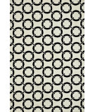 RugStudio presents Loloi Charlotte Ct-05 Ivory / Onyx Machine Woven, Good Quality Area Rug