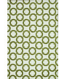 RugStudio presents Loloi Charlotte Ct-05 Ivory / Peridot Machine Woven, Good Quality Area Rug