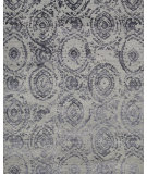 RugStudio presents Loloi Cyrus CU-01 Grey / Indigo Woven Area Rug