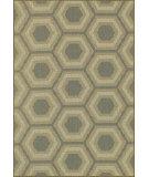 RugStudio presents Loloi Capri Cx-06 Blue / Beige Machine Woven, Good Quality Area Rug