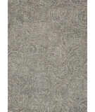 RugStudio presents Rugstudio Sample Sale 68264R Smoke Hand-Tufted, Best Quality Area Rug