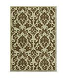 RugStudio presents Rugstudio Famous Maker 40016 Ivory-Olive Machine Woven, Good Quality Area Rug