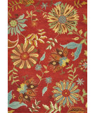 RugStudio presents Loloi Dahlia Dh-03 Red Hand-Tufted, Best Quality Area Rug
