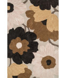 RugStudio presents Loloi Eden EA-01 Beige / Brown Hand-Tufted, Good Quality Area Rug