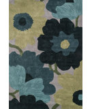 RugStudio presents Loloi Eden EA-01 Grey / Blue Hand-Tufted, Good Quality Area Rug